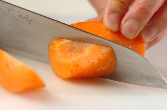 揚げ肉ジャガの作り方の手順1