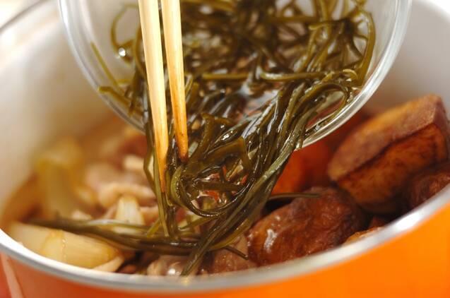 揚げ肉ジャガの作り方の手順7