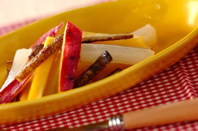 根菜の揚げピクルス