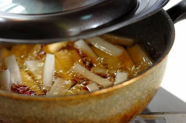 根菜の揚げピクルスの作り方の手順3