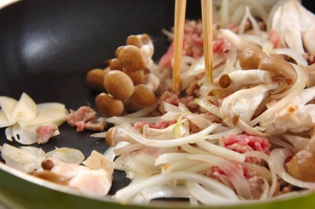 絹ごし豆腐のふんわりチャンプルーの作り方の手順3