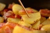 ポテトとベーコンの前菜の作り方2