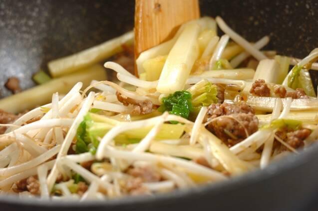 シャキシャキ豚セロリ炒めの作り方の手順3