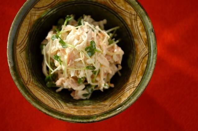 6. 切干大根のサラダ