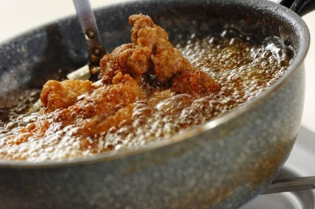 カレー風味のフライドチキンの作り方の手順5