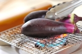 焼きナスブルスケッタの作り方1