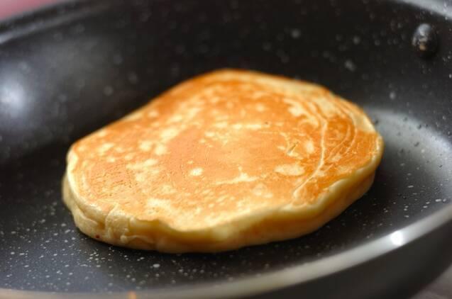 サツマイモのパンケーキの作り方の手順3