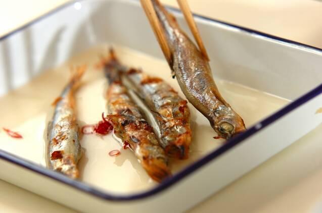 シシャモの甘酢漬けの作り方の手順4