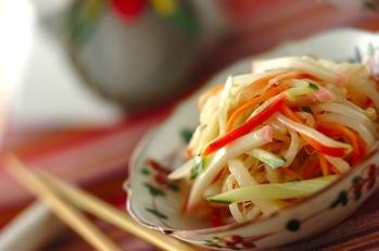 なますの中華風サラダ