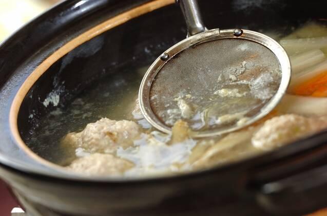 だまこ鍋の作り方の手順7