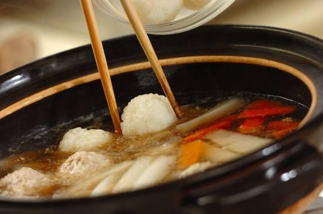 だまこ鍋の作り方の手順8