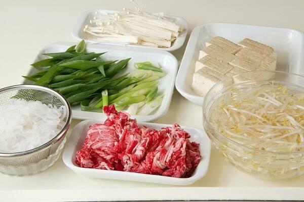 あまから肉豆腐の作り方の手順1