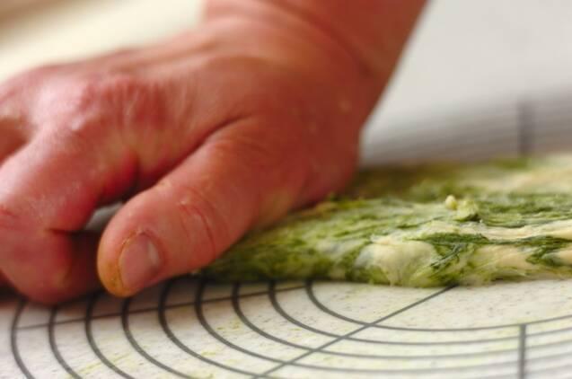 抹茶と甘納豆のパンの作り方の手順7