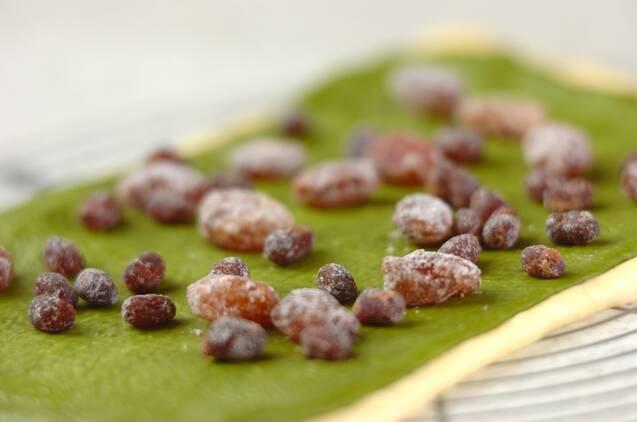 抹茶と甘納豆のパンの作り方の手順9