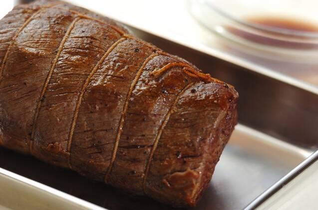 炊飯器で簡単!ローストビーフ丼の作り方の手順7