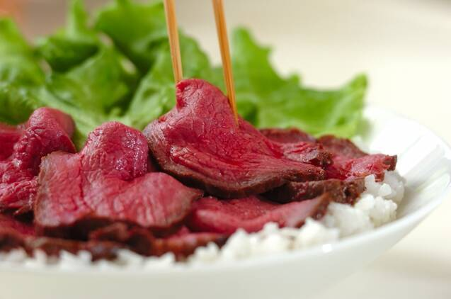 炊飯器で簡単!ローストビーフ丼の作り方の手順9