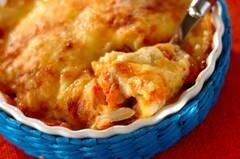 キムチチーズグラタン