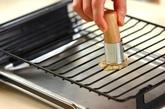 キノコと鶏肉の焼きびたしの作り方1