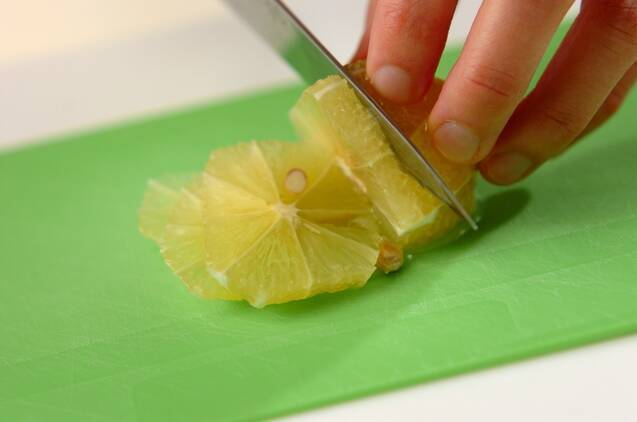 ハチミツレモンの作り方の手順1