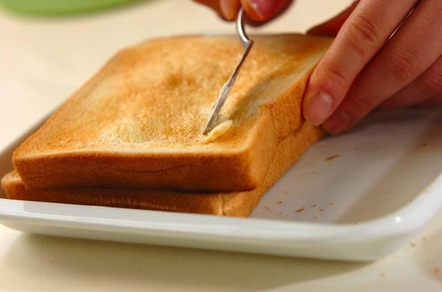 スペイン風オムレツサンドイッチの作り方の手順1