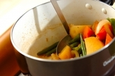 ジャガイモとインゲンの煮物の作り方4