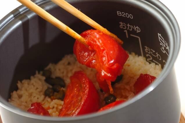 トマトライスの作り方の手順5