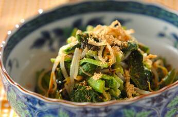 小松菜のきな粉のり和え
