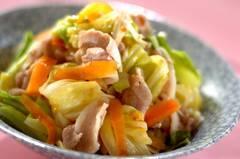 春キャベツと豚バラ肉のおかず温サラダ