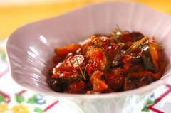 ナスとズッキーニのトマト煮