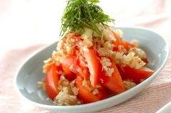 中華風トマトサラダ