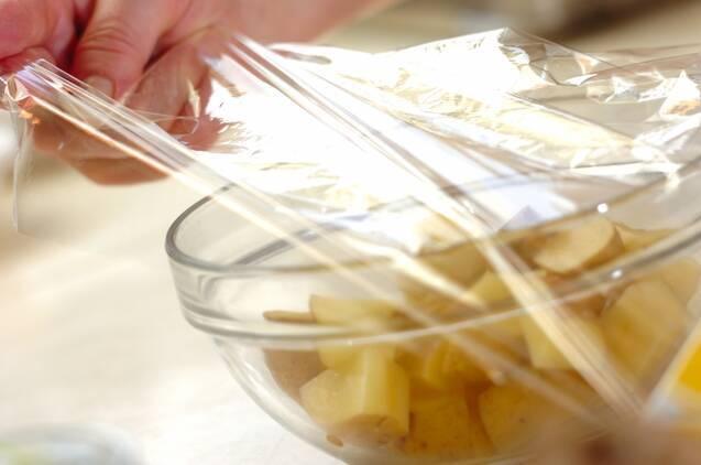 コンビーフポテトの作り方の手順1