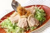 ゆで鶏・ネギソースの作り方8