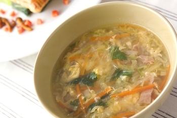 白菜のスープ