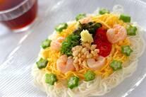 七夕の日の素麺