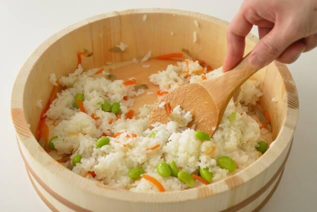 レンジで簡単いなり寿司の作り方の手順8
