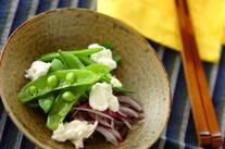 豆と水きりヨーグルトのサラダ