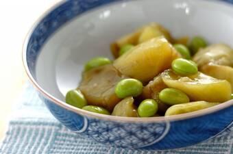 ナスと枝豆のひすい煮