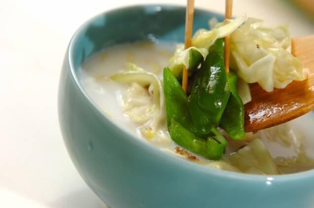 ミルクタン麺の作り方の手順7
