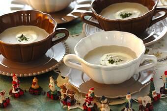 キノコのポタージュスープ