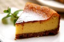 絶品!基本のベイクドチーズケーキ
