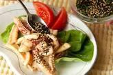 イカのニンニクマヨ炒めの作り方7