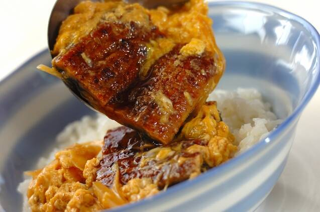 だし玉ウナ丼の作り方の手順5