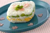 ヨーグルト風味の押し寿司
