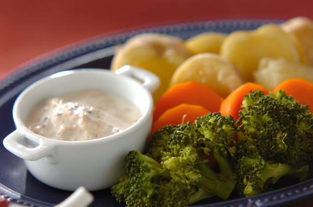蒸し野菜 トンナートソース
