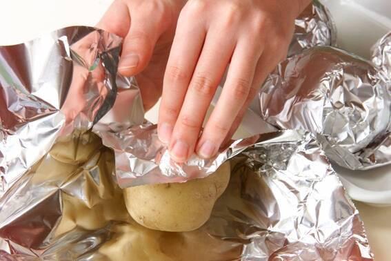 ベイクドポテトの作り方の手順3