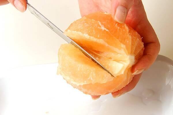 グレープフルーツゼリーの作り方の手順2