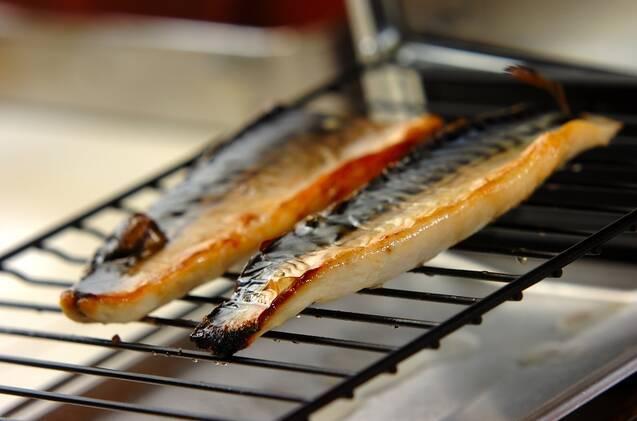 焼き鯖寿司の作り方の手順2