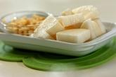 長芋の炊き込みご飯の下準備1