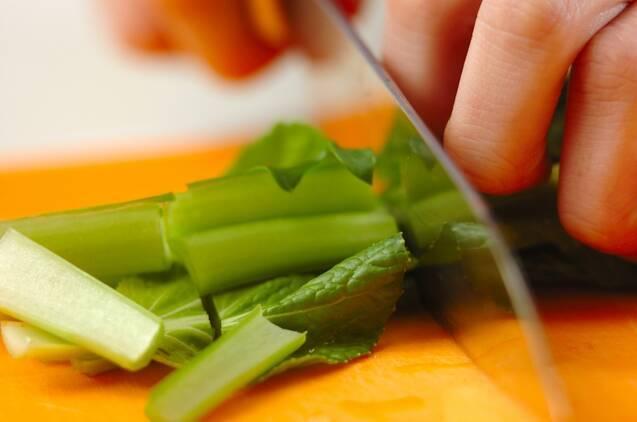 かき玉スープの作り方の手順1