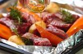 豚のスペアリブ・ブルーベリーソースの作り方1
